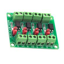 817 Optocoupler 4-way Voltage Isolation Board Voltage Control Switching Module Drive Module Optical Isolation Module(China)
