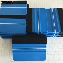 1000pcs Pro Felt Edge Squeegee Vinyl Car Van Bike Wrap Wrapping Spatula Tool Scraper Car Wrap Applicator Tool