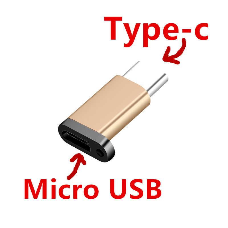 CatXaa Type-C อะแดปเตอร์แหวนโทรศัพท์มือถือ JAK Micro TO Type C ขนาดเล็ก Converter สำหรับ MacBook Xiaomi 6 huawei P10 Samsung Letv