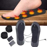 1 пара электрических ботинок с подогревом для ног с подогревом многофункциональные для активного отдыха на велосипеде, рыбалки, походов, зи...