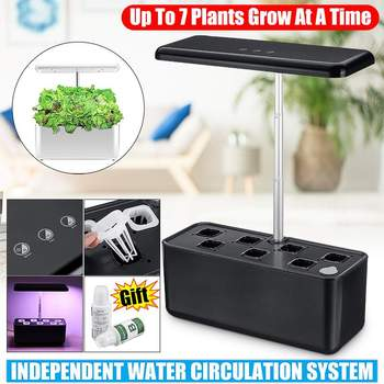 Indoor Plant Hydroponics Grow light Soilless Cultivation Plant Grow Light Auto Flower Nursery Pot For Plant Nursery Grow Lamp