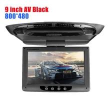 Monitor AV de 9 pulgadas para reposacabezas de coche, reproductor de DVD, Radio, TFT, pantalla LCD Digital, Monitor táctil, más nuevo, HD radio