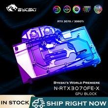 Gpu-Block Radiator Video-Card Water-Cooler 3070 Cooling Bykski NVIDIA N-RTX3070FE-X 3060ti