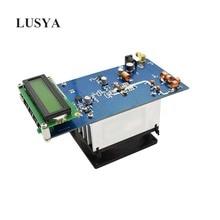 Lusya 87.5M 108MHz 50W מרבי עד 70W סטריאו RF FM משדר מגבר עם מאוורר רדיו תחנת מודול DC 12 13.8V 10A H4 002