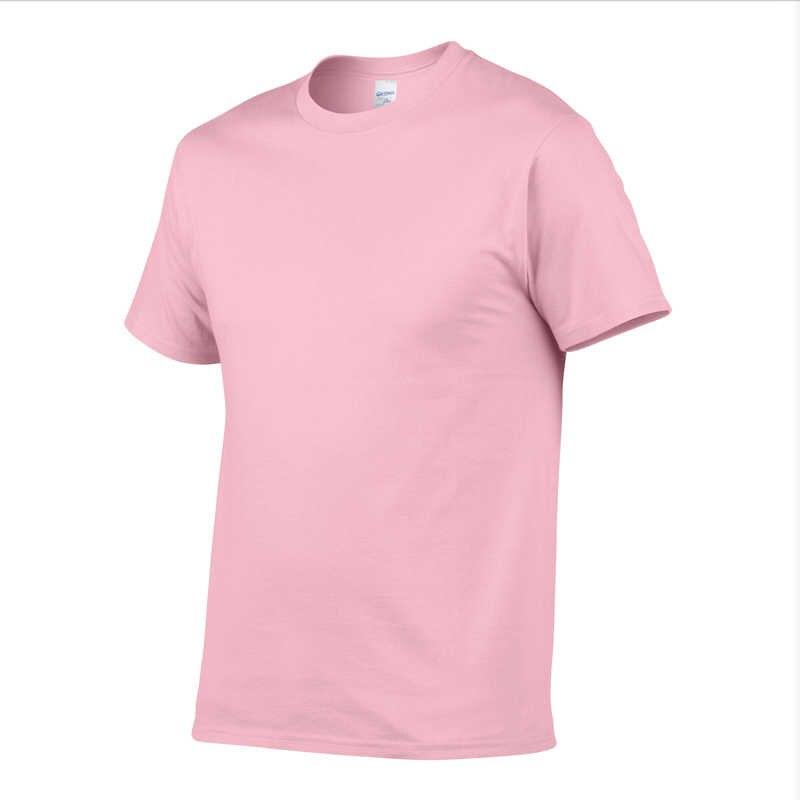 Nieuwe kleur 100% Katoenen T-shirt Heren Zwart Wit T-shirts 2020 Zomer Skateboard Tee Jongen Hip hop Skate Tshirt Tops