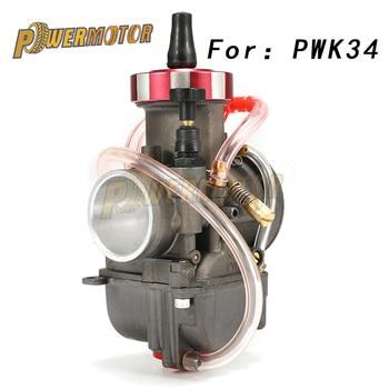 PowerMotor-28 carburador de motocicleta 30 32 34mm PWK con motor de moto de Motocross de chorro de potencia ATV UTV Off Road Pit Bike 4T