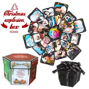 Image 2 - 11 Kleuren Verrassing Partij Liefde Explosie Doos Gift Explosie Voor Anniversary Scrapbook Diy Fotoalbum Verjaardag Christmas Gift