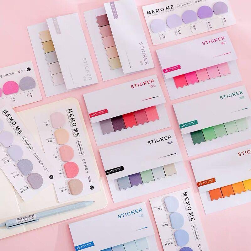 Sharkbang 60/80 helai warna kecerunan N kali melekatkan indeks - Pad nota dan buku nota - Foto 3