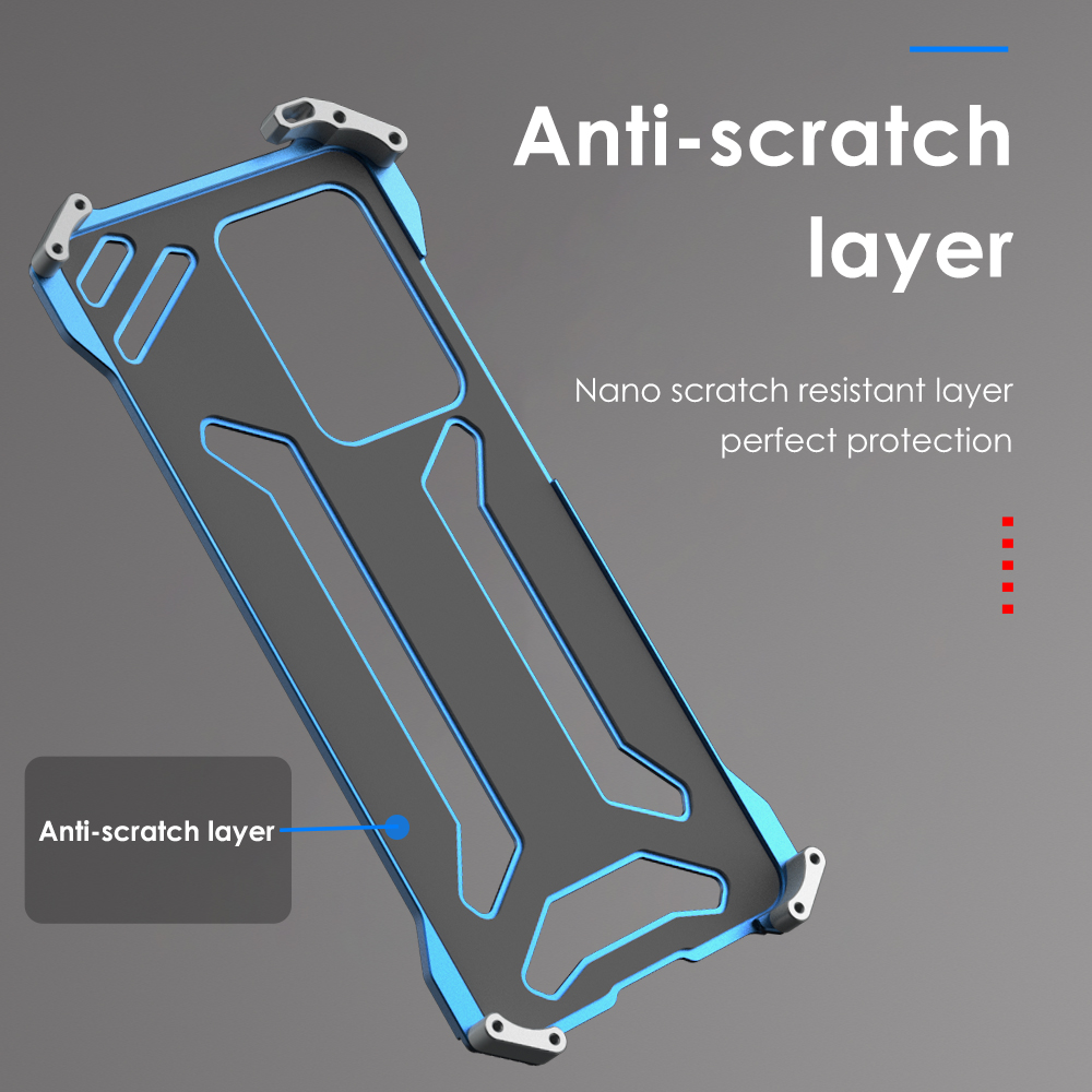 Metal Aluminum Armor Case For Samsung Galaxy S20 Plus S20+ Case Shockproof Bumper Phone Cover Case For Samsung Galaxy S20 Ultra