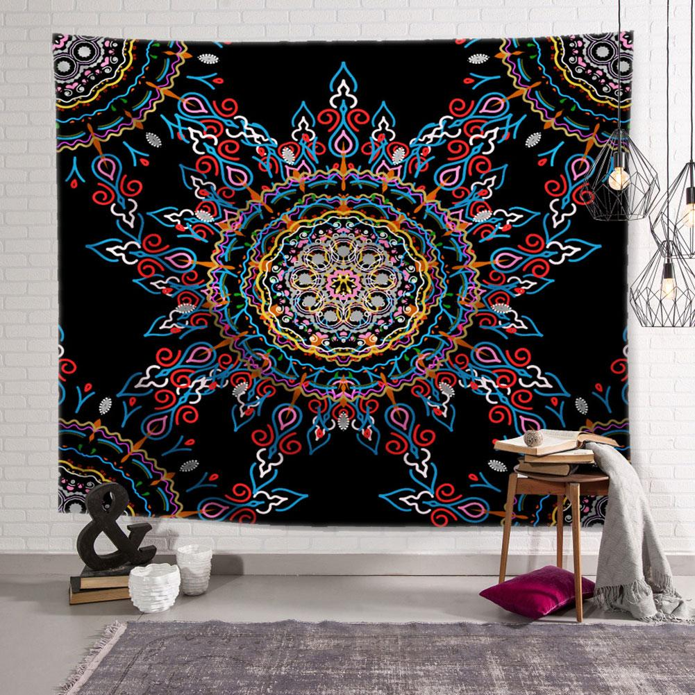Bohemia Wall Tapestry Multi Functional Wall Hanging Tapestry Carpet Tablecloth Beach Towel Room Decoration Background Tapestry(China)