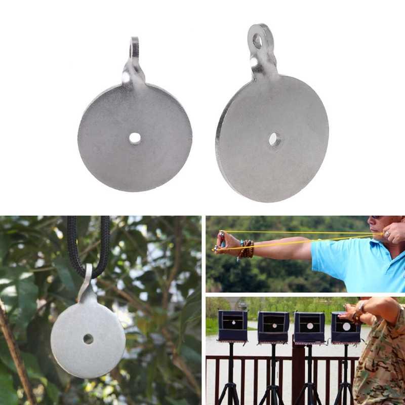 Đồng Hồ Nam Dây Thép Không Gỉ Mục Tiêu Bullseye 3 Cm 4 Cm Bắn Súng Cao Su Máy Phóng Mục Đích Tập Thể Dục
