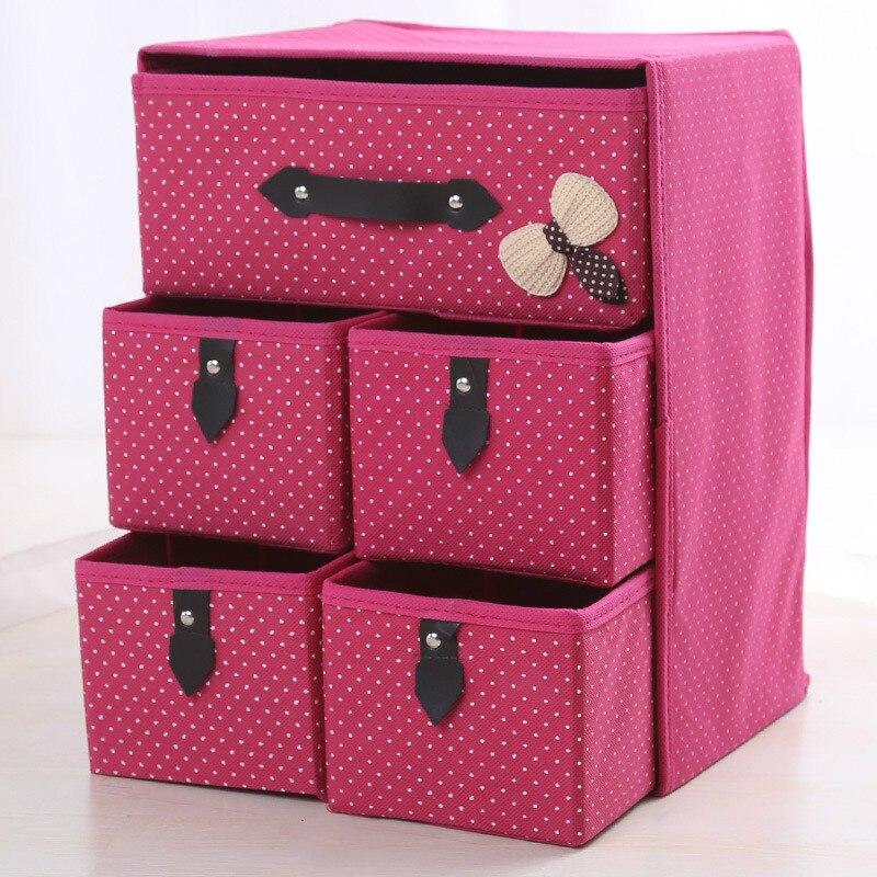 Thick non-woven storage box folding storage box storage box drawer folding storage drawer storage box drawer box MJ629