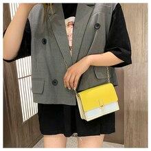 купить Famous Brand Mini Crossbody Bag Small Female Gold Long Chain Shoulder Bags Pu Leather Crossbody Mobile Phone Bags For Women по цене 256.62 рублей