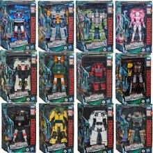 Фигурка трансформера Hasbro Toys поколения война за Кибертрон: земля Rise WFC-серия Optimus Prime Sunstreaker, модель игрушек