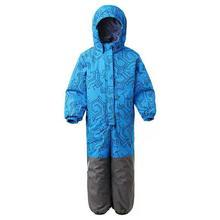 Winter Overall Kid Warm Jumpsuit -20 Degree Waterproof Boy Outdoor Muumi Girls Windproof Clothes Children Blue Pink