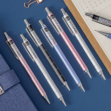 School Office Metal Mechanical Pencil 0.5mm / 0.7mm Student Automatic Pencils 0.5mm / 0.7mm Lead Core Pencil Student Pencil