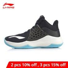 لى نينغ الرجال سونيك TD على المحكمة حذاء كرة السلة ضوء رغوة تنفس دعم بطانة لى نينغ أحذية رياضية أحذية رياضية ABPP029 XYL249