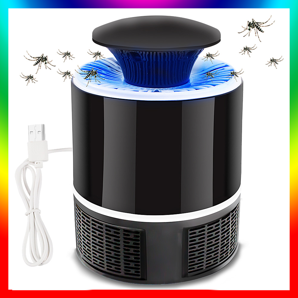 Mosquito Lamp Electric USB Lamp Indoor Baby Room No Noise Radiation Insecticide Fly Lamp Silent Electric Mosquito Lamp
