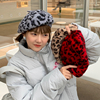 New Auutmn Winter Hats Women Solid Plain Octagonal Newsboy Cap Ladies Casual Wool Hat Warm Beret Womens Painter Caps Fisherman 2