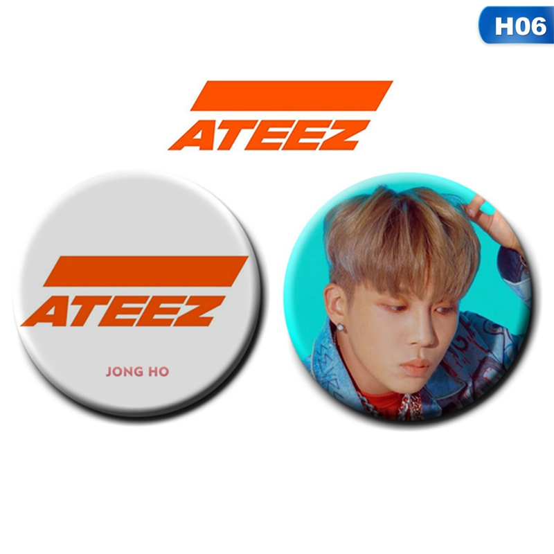 ATEEZ Brooch Badges