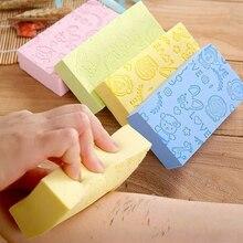 2019 Sale 1PC 4 Colors Soft Body Cleaning Bath Spa Sponge Sc