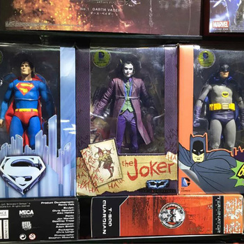Man Superman Batman Joker Full Set Action Figure Body Doll Collection Model Toys For Collection Toys Gifts For Kids image
