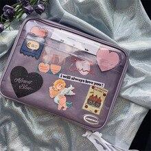 Чехол для планшета Ins, Чехол для iPad Pro 12,9 11 10,5 дюймов Air 4 10,2 2020, чехол для ноутбука в Корейском стиле для девочек, дорожная сумка