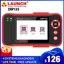 LAUNCH X431 CRP123 OBD2 EOBD auto scanner ABS Airbag SRS Transmission Engine Car Diagnostic Tool CRP 123 OBDII code reader