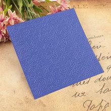 15x15cm Words Embossing Folders Plastic for Scrapbooking Diy Template Photo Album Card Making