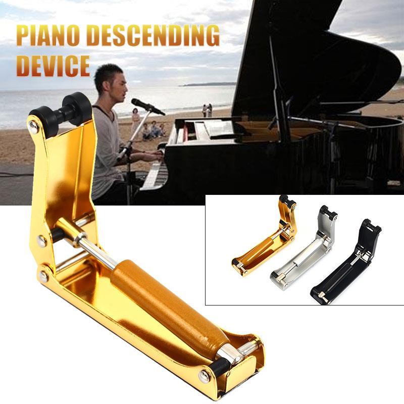 Piano Descending Device Multifunctional Professional Metal 3 Color Gifts Home Entertainment Piano Buffer Repair Maintenance