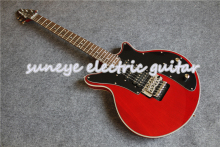 Custom Shop Red Electric Guitar Brian May Style Guitarra Electric DIY Guitar Kit Custom Available free shipping new arrival custom shop bull eyes black white electric guitar