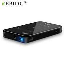 DLP 2021 projektor Full HD z systemem Android 9 0 LPDDR4 2GB 16GB Mini przenośny 4K projektor Wifi baterii Bluetooth Video Beamer PK C6 tanie tanio ViviBright Automatyczna korekcja CN (pochodzenie) 16 10 50 ANSI 854x480 dpi P09 DLP Projector Other 2000 01 00 projektor do filmów