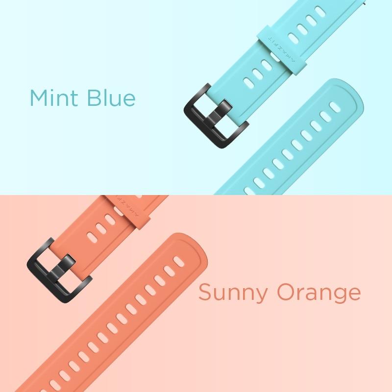 cheapest 22mm Original Strap Amazfit Smart Watch Strap for Original Amazfit Pace Stratos GTR Watch Amazfit Smartwatch