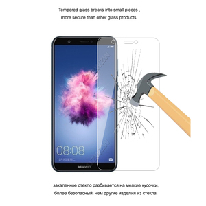 Image 4 - For Huawei P Smart Premium 2.5D 0.26mm Tempered Glass Screen Protector For Huawei P Smart Protective Glass