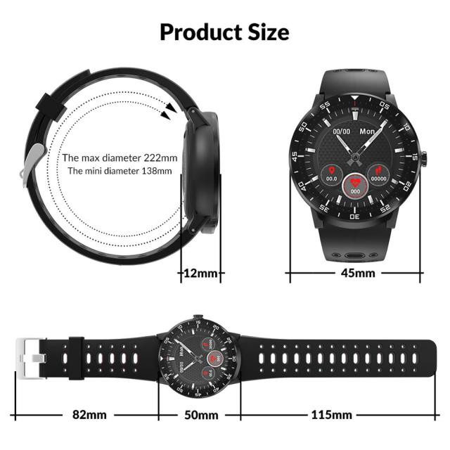 heyfitae™ Full Touch luxury Smart Watch for Men and Women  6