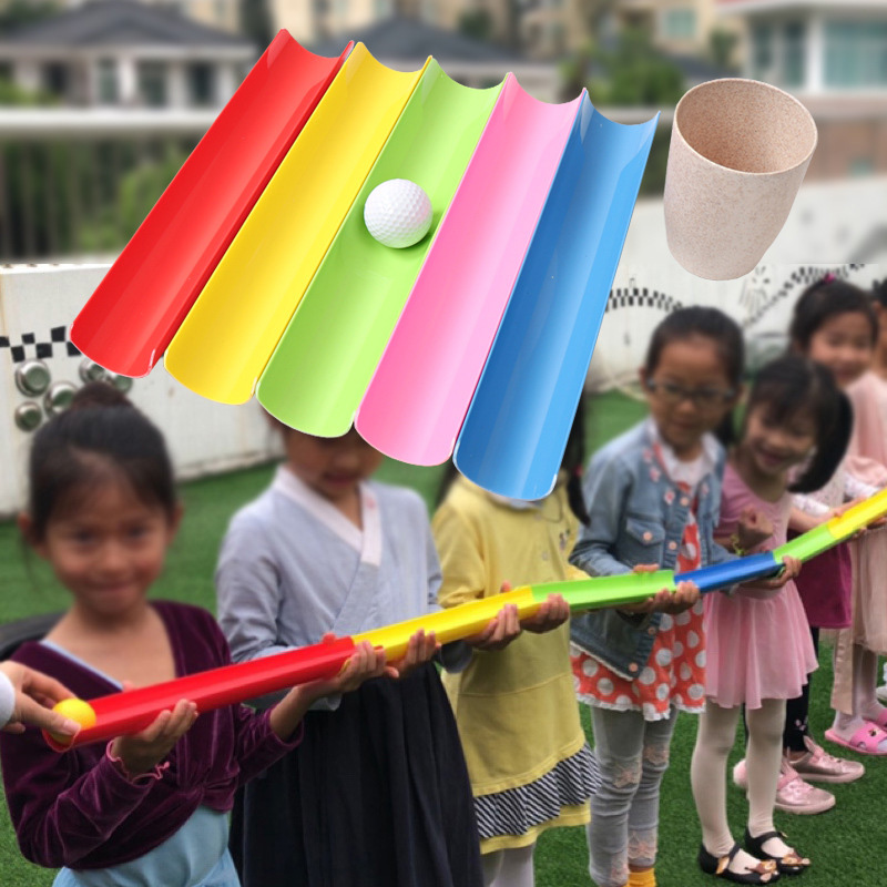 Large 50cm Delivery Bars With Bag Outdoor Games Sport ToysTeam Working Cooperation Parents Children Party Games Free Shipping