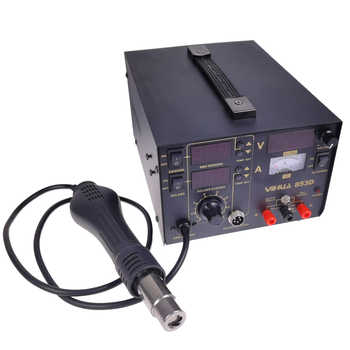 YIHUA-853d Hot air welding table three-in-one hot air welding table with power supply of 30V 5A AC220V/110V