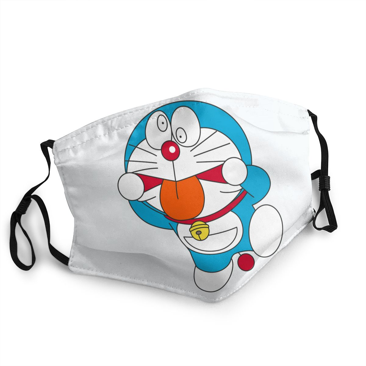 Doraemon Mug Non-Disposable Face Mask Anti Bacterial Dust Mask Protection Mask Respirator Mouth Muffle