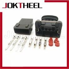 1-20 комплектов AMP 3,5 мм 4 контактный вилка розетка Junior Мощность таймер розетка Автомобильный датчик кислорода разъем катушки зажигания Разъем 282192-1