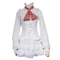 High Q Game FTG Fighting Game Cosplay Costume Cos Emilie De Rochefort Costume LILI Play Suit