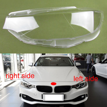 Cover-Lens Front-Headlight-Cover 4-Series Headlamp Shell Lampshade-Lamp Transparent