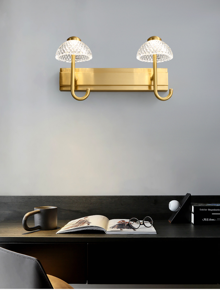 maquiagem luz moderno e minimalista vestir luz cama nórdica