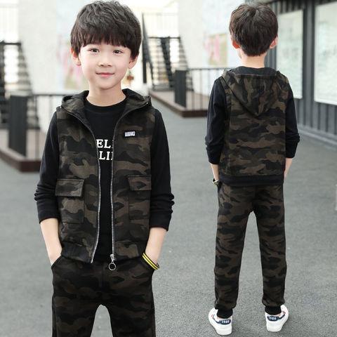criancas menino roupas de inverno conjunto infantil