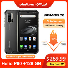 Ulefone Armor 7E Robuuste Mobiele Telefoon Helio P90 + 128G Smartphone 2.4G/5G Wifi Waterdichte IP68 global Versie Android 9.0 Nfc/48MP(China)