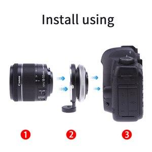 Image 5 - Anillo adaptador de inclinación FOTGA para lente de montaje Canon EOS a cámara Micro Four Thirds M4/3