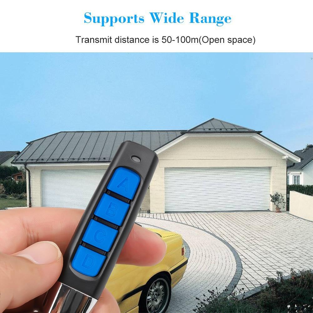 kebidu 433MHZ Remote Control 4 Channe Garage Gate Door Opener Remote Control Duplicator Clone Cloning Code Car Key 5