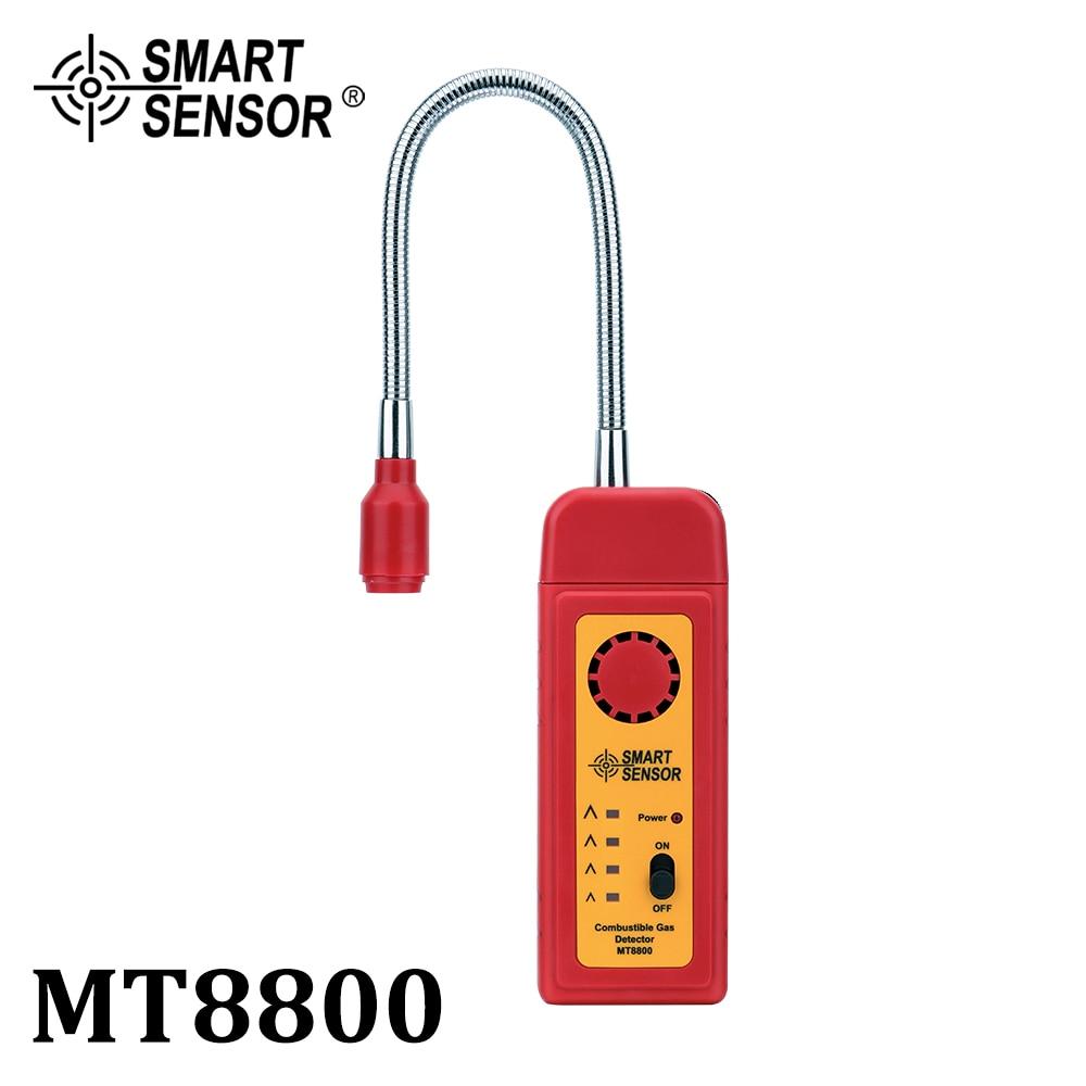 Natural Gas Leak Detector Flammable Combustible Gas Leak Determine Meter Combustion Gas Tester Analyzer High Sensitivity Sensor