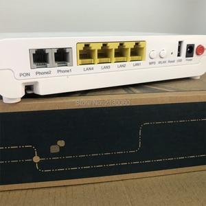 Image 4 - 100% Nguyên Bản Và Mới ZTE F660 GPON ONT 5.0 Phiên Bản 4FE + 2TEL + USB + WIFI Tiếng Anh Miếng Quang Học mạng Nhà Ga, miễn Phí Vận Chuyển