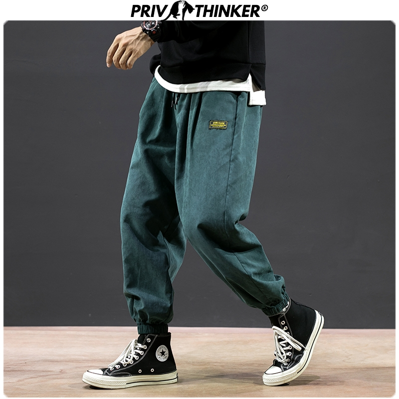 Privathinker Men Colorful 2020 Japan Style Harem Pants Mens Loose Collage 5XL Pants Male Streetwear Trousers Fashions Buttoms