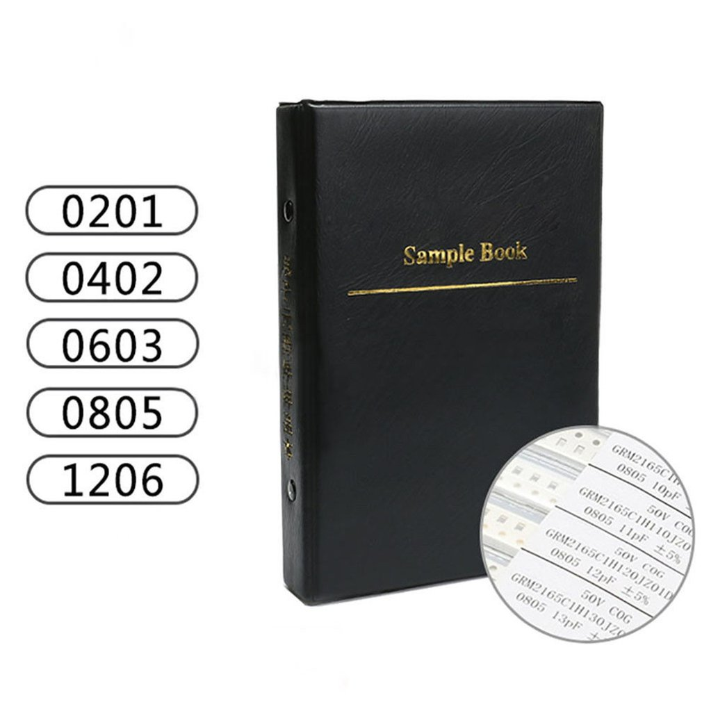 1 комплект 0603 smd конденсатор книга образцов 90valuesx50шт 4500 шт 0.5pf упаковка 1 мкФ конденсатор набор